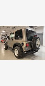 2004 Jeep Wrangler for sale 101417930