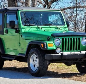 2004 Jeep Wrangler for sale 101460688