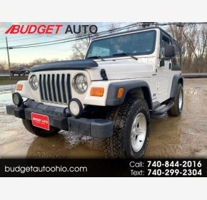 2004 Jeep Wrangler for sale 101461971
