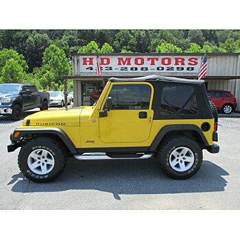 2004 Jeep Wrangler 4WD Rubicon for sale 101560696