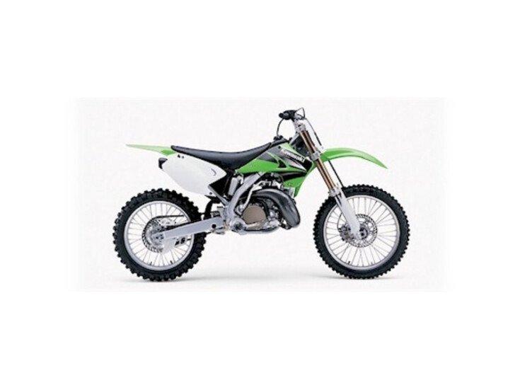 2004 Kawasaki KX100 250 specifications