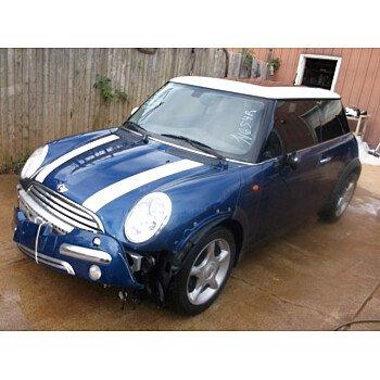 2004 MINI Cooper Hardtop for sale 100291793