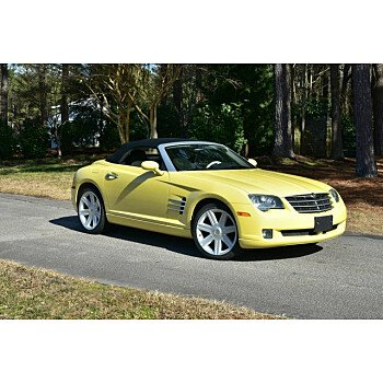 2005 Chrysler Crossfire for sale 101450204