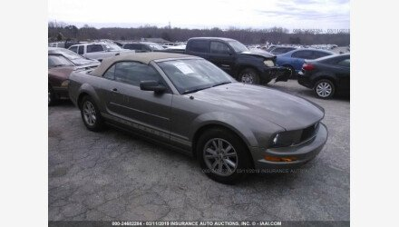2005 Ford Mustang Convertible for sale 101192535