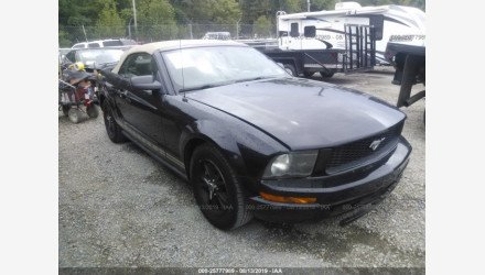 2005 Ford Mustang Convertible for sale 101206164