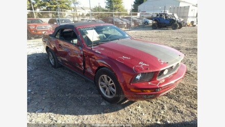 2005 Ford Mustang Convertible for sale 101222355