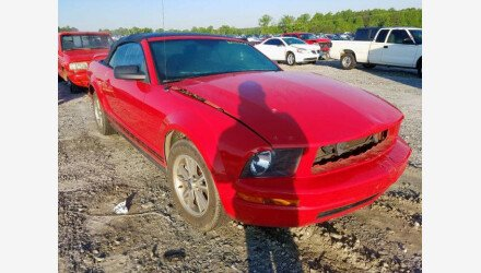 2005 Ford Mustang Convertible for sale 101360247