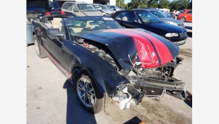 2005 Ford Mustang Convertible for sale 101383663