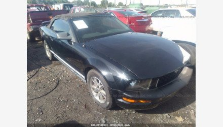 2005 Ford Mustang Convertible for sale 101412556