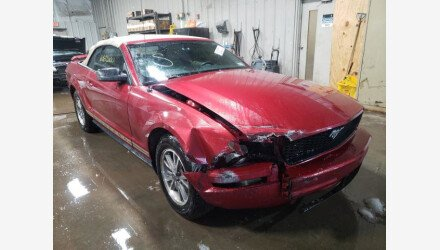 2005 Ford Mustang Convertible for sale 101440492