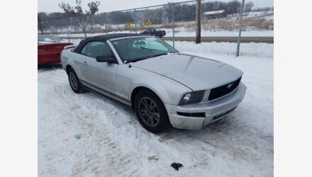 2005 Ford Mustang Convertible for sale 101440512