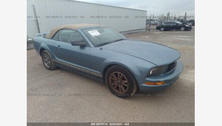 2005 Ford Mustang Convertible for sale 101452225