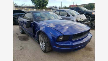 2005 Ford Mustang Convertible for sale 101462544