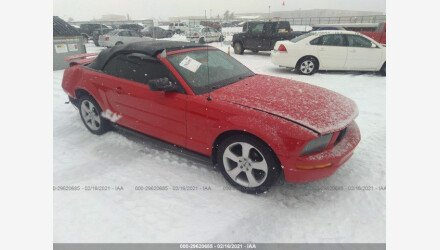 2005 Ford Mustang Convertible for sale 101465022