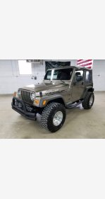 2005 Jeep Wrangler 4WD Sport for sale 101113031