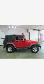2005 Jeep Wrangler 4WD Sport for sale 101191343