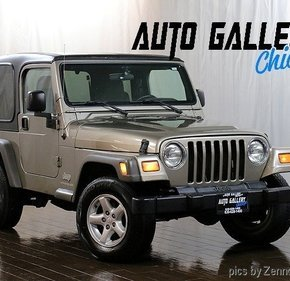 2005 Jeep Wrangler 4WD SE for sale 101227020