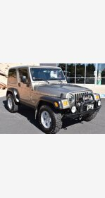 2005 Jeep Wrangler 4WD Rubicon for sale 101302668
