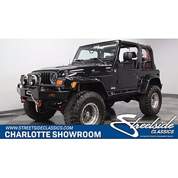 2005 Jeep Wrangler for sale 101338501