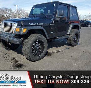 2005 Jeep Wrangler for sale 101452900