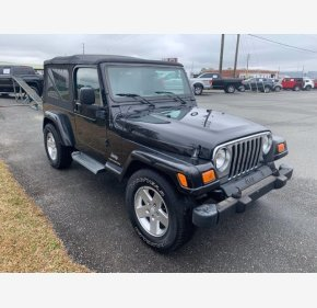 2005 Jeep Wrangler for sale 101481775
