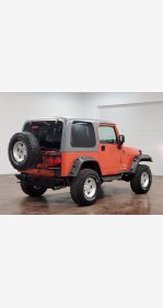 2005 Jeep Wrangler for sale 101487093