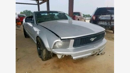 2006 Ford Mustang Convertible for sale 101220718
