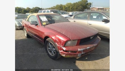 2006 Ford Mustang Convertible for sale 101222724