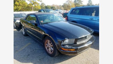 2006 Ford Mustang Convertible for sale 101266461