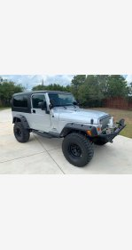 2006 Jeep Wrangler 4WD Unlimited for sale 101212865