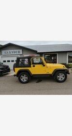 2006 Jeep Wrangler 4WD SE for sale 101220104