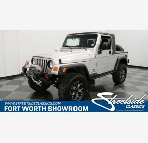 2006 Jeep Wrangler for sale 101319878
