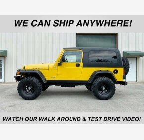 2006 Jeep Wrangler for sale 101326046