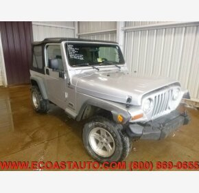 2006 Jeep Wrangler 4WD Sport for sale 101326286