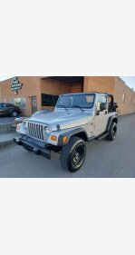 2006 Jeep Wrangler for sale 101406563