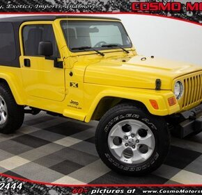 2006 Jeep Wrangler for sale 101458408