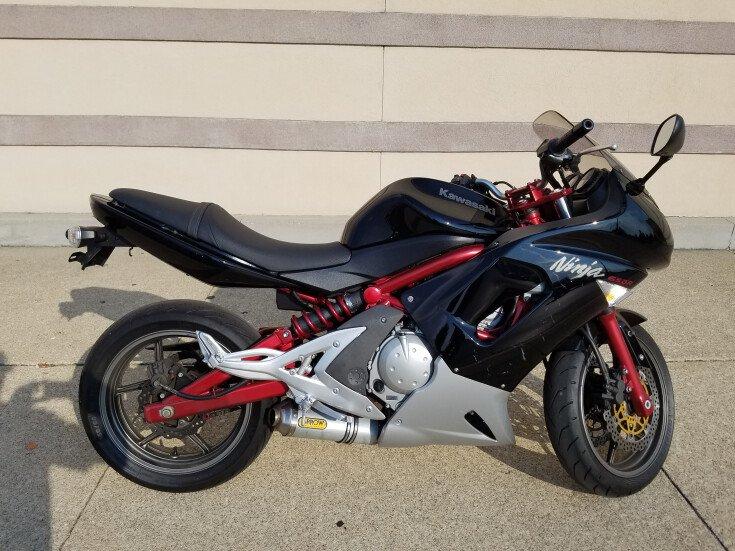 2006 Kawasaki Ninja 650r For Sale Near Westerville Ohio