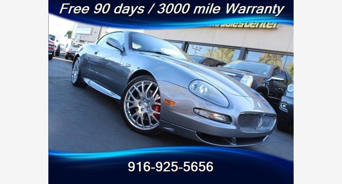 2006 Maserati GranSport Coupe for sale 101007886
