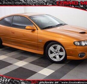2006 Pontiac GTO for sale 101405948