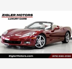 2007 Chevrolet Corvette Convertible for sale 101325816