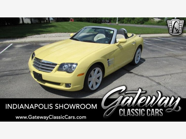 2007 Chrysler Crossfire Limited Convertible for sale 101546507