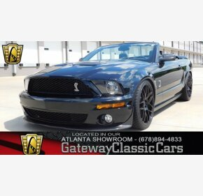 2007 Ford Mustang Shelby GT500 Convertible for sale 100986723