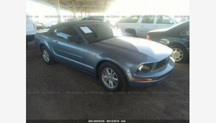 2007 Ford Mustang Convertible for sale 101207445