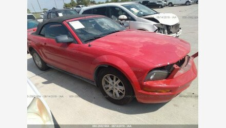 2007 Ford Mustang Convertible for sale 101217449