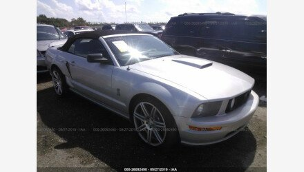 2007 Ford Mustang GT Convertible for sale 101218109