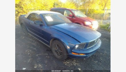 2007 Ford Mustang Convertible for sale 101240044