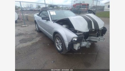 2007 Ford Mustang Convertible for sale 101337622
