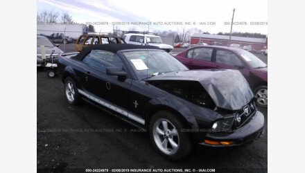 2007 Ford Mustang Convertible for sale 101340375