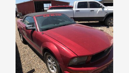 2007 Ford Mustang Convertible for sale 101360249