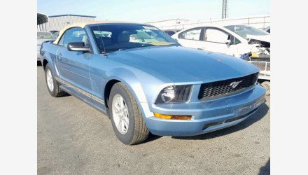 2007 Ford Mustang Convertible for sale 101360290